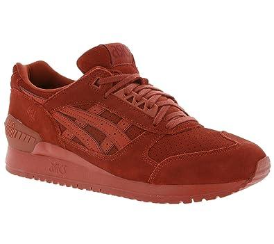Cuir Hommes Sneaker Pour Asics Gel Rouge En Respector Véritable m08Nnw