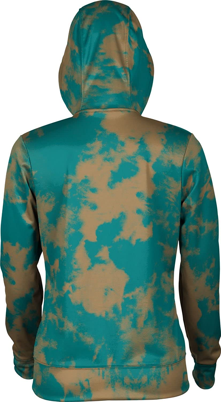 Coastal Carolina University Girls Zipper Hoodie Grunge School Spirit Sweatshirt