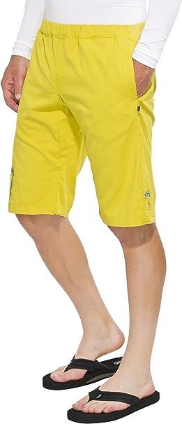 E9 New Doblone - Short Homme - jaune Modè