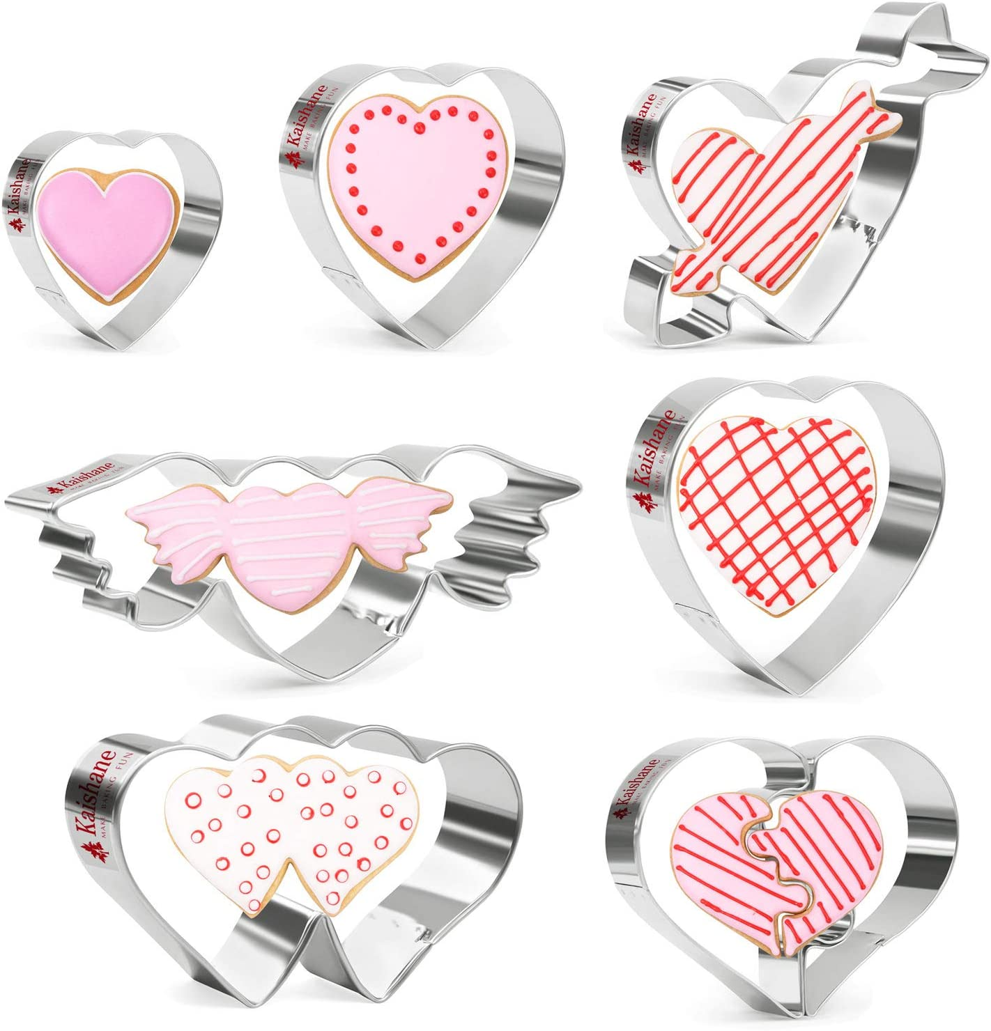 A Perfect Fit Heart Puzzle Cookie Cutters Bridal Shower Wedding Favors