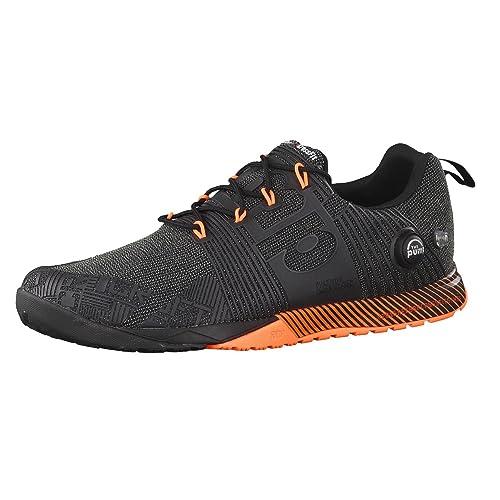 Reebok R Crossfit Nano Pump FS, Zapatillas de Deporte para Hombre, Negro/Naranja (Black/Electric Peach/Ultima Orange), 42 EU: Amazon.es: Zapatos y ...