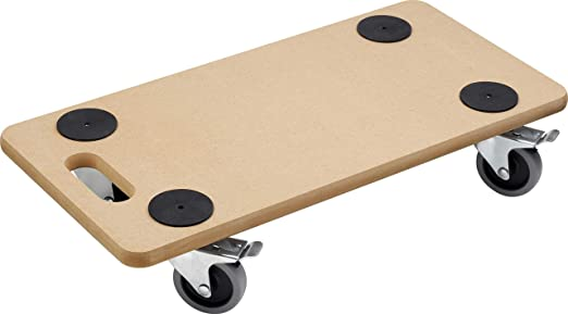 Meister 821390 - Tabla con ruedas para transporte (soporta hasta 200 kg, 590 x
