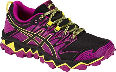 ASICS Gel-Fujitrabuco 7 Womens Running Shoe, Purple Spectrum/Black, 6.5 B