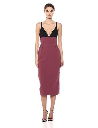 9f80a8e8 Amazon.com: Jill Jill Stuart Women's Two Tone Cocktail Dress: Clothing
