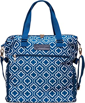 Sarah Wells Lizzy Breast Pump Bag (Navy)