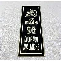 $20 » Mikko Rantanen 96 Colorado Avalanche Laser Nameplate