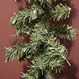CHRISTMAS DECORATION - a 9ft undecorated xmas green pine garland by AbigailRose