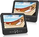 FANGOR 7.5'' Dual Car DVD Player, Headrest Video CD Player with