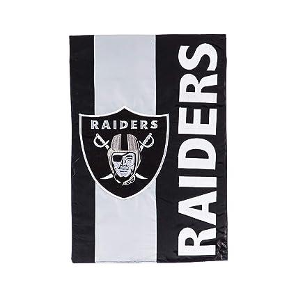 Amazon com : Team Sports America Oakland Raiders Embellish Garden