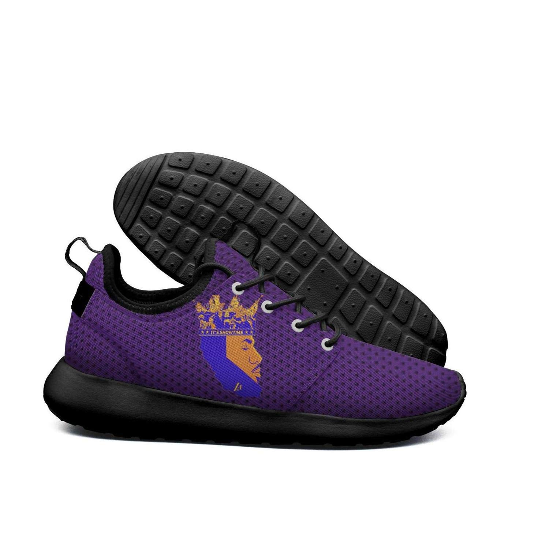 Womens Roshe Two Lightweight La/_Bron/_Yellow/_Logo/_Basketball Beautiful Walking Jogging mesh Shoes