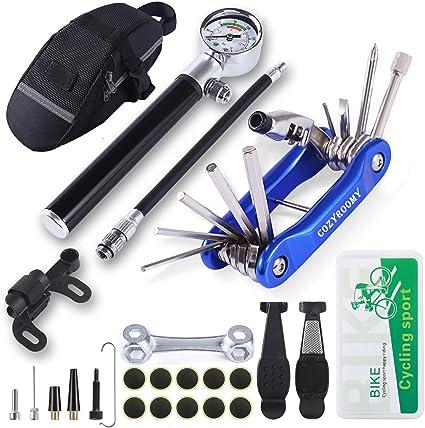 Flickzeug Werkzeug Reparaturset Fahrrad Fahrradflicken Reifenkleber mit Tasche