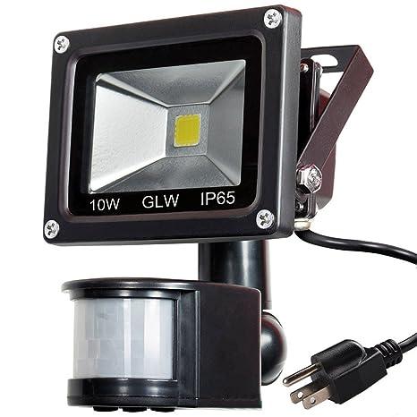 Glw 110v led motion sensor flood light 10w mini ip65 waterproof glw 110v led motion sensor flood light10w mini ip65 waterproof outdoor light900lm aloadofball Gallery