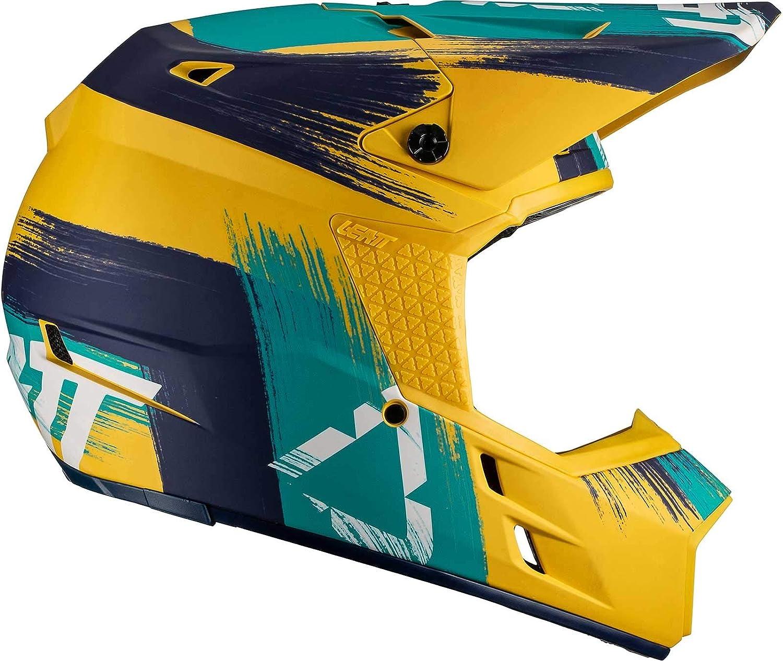 Leatt GPX 3.5 V19.1 Helmet-Gold//Teal-M 1019102182