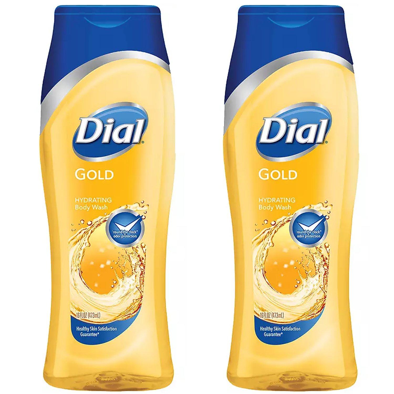 Dial Hydrating Body Wash Gold, 16 fl oz (2 Pack)
