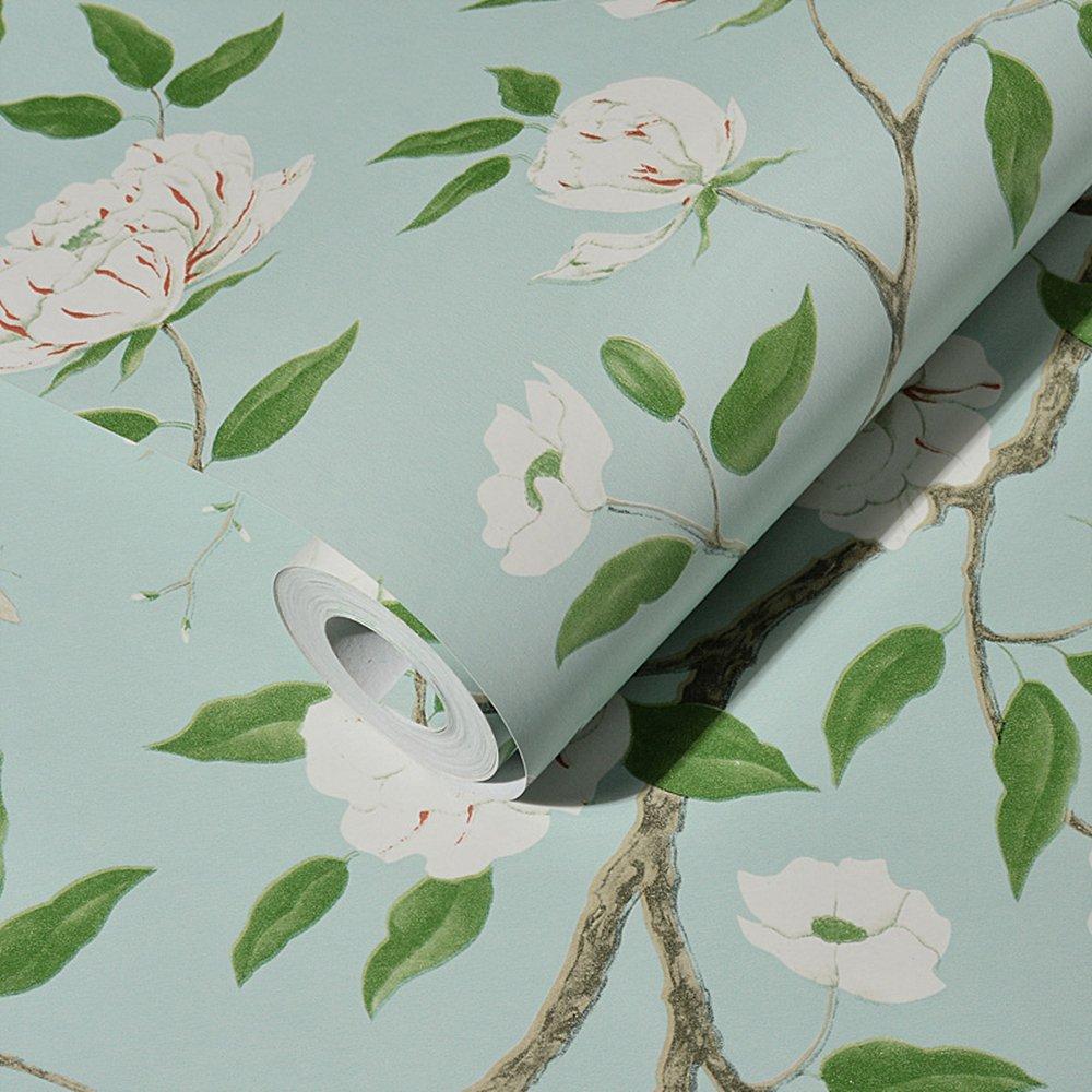Amazon.com: Blooming Wall MH1404 - Papel pintado para pared ...