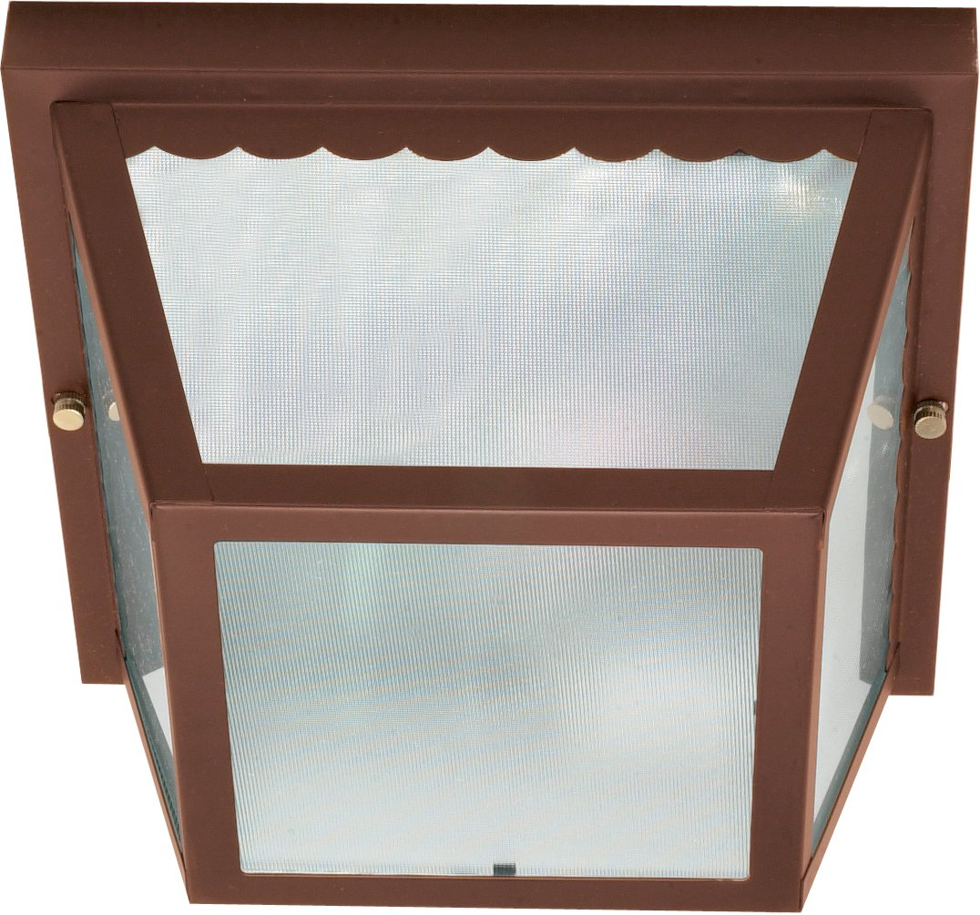 Nuvo Outdoor - 2 Light - 10 in. Carport Flush Mount