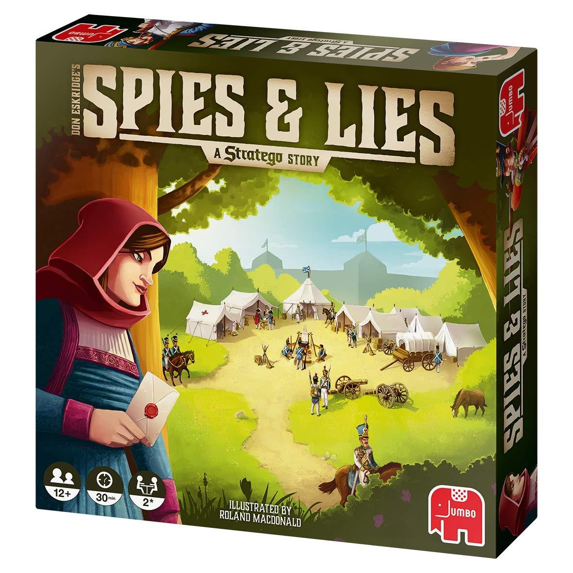 Spies & Lies: Eine Stratego-Geschichte: Amazon.es: Libros en idiomas extranjeros