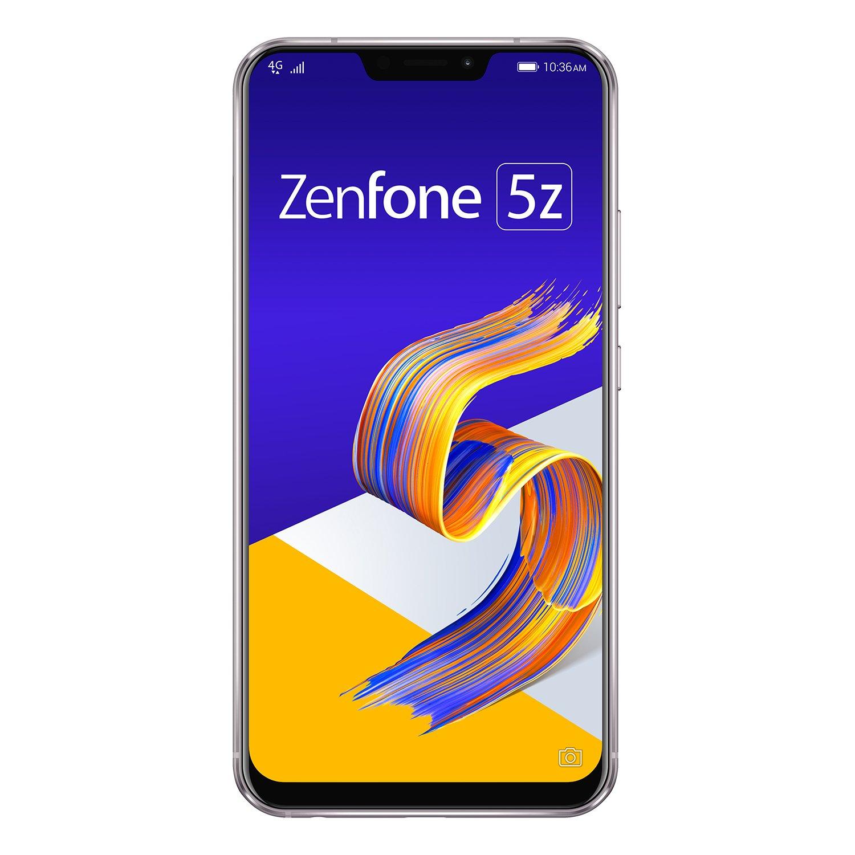ASUS Zenfone 5Z シルバー 【日本正規代理店品】 ZS620KL-SL128S6/A