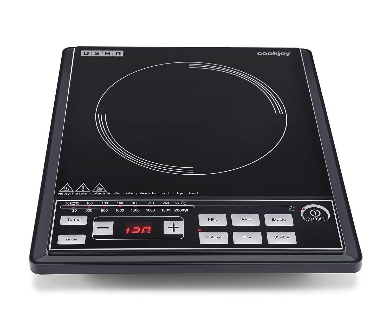 Usha Cook Joy (2102 P) 2000-Watt Induction Cooktop