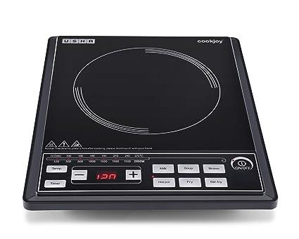 Usha Cook Joy (2102 P) 2000-Watt Induction Cooktop (Black)