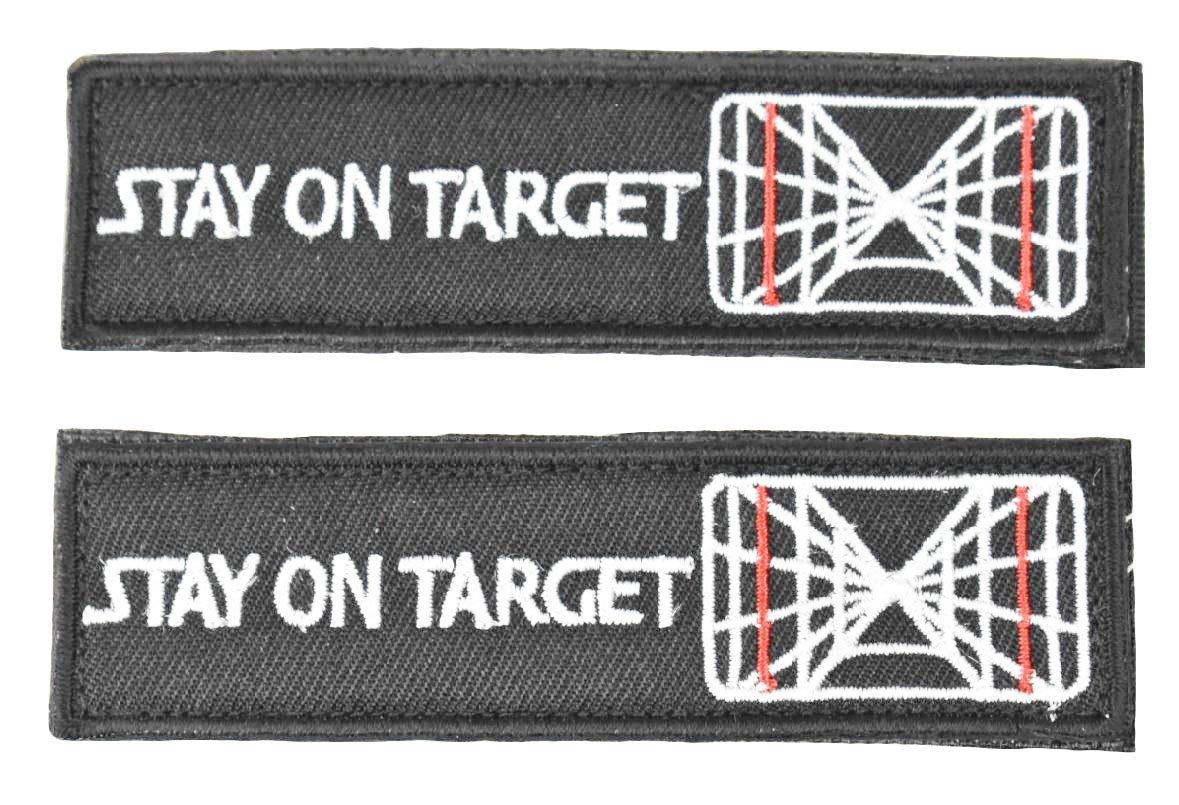 Jadedragon Star War Embroidered Morale Hook Fastener Tactical Patch (Black R) 4337027073
