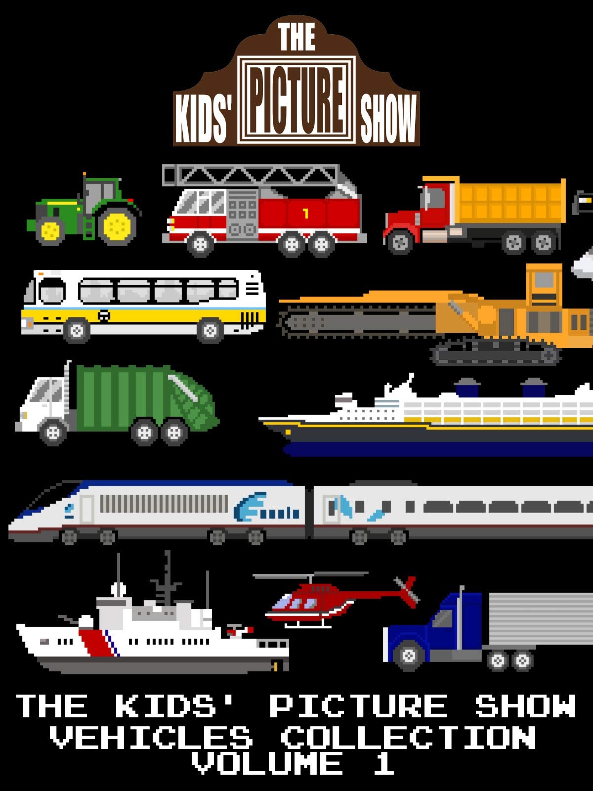 The Kids' Picture Show - Vehicles Collection Volume 1