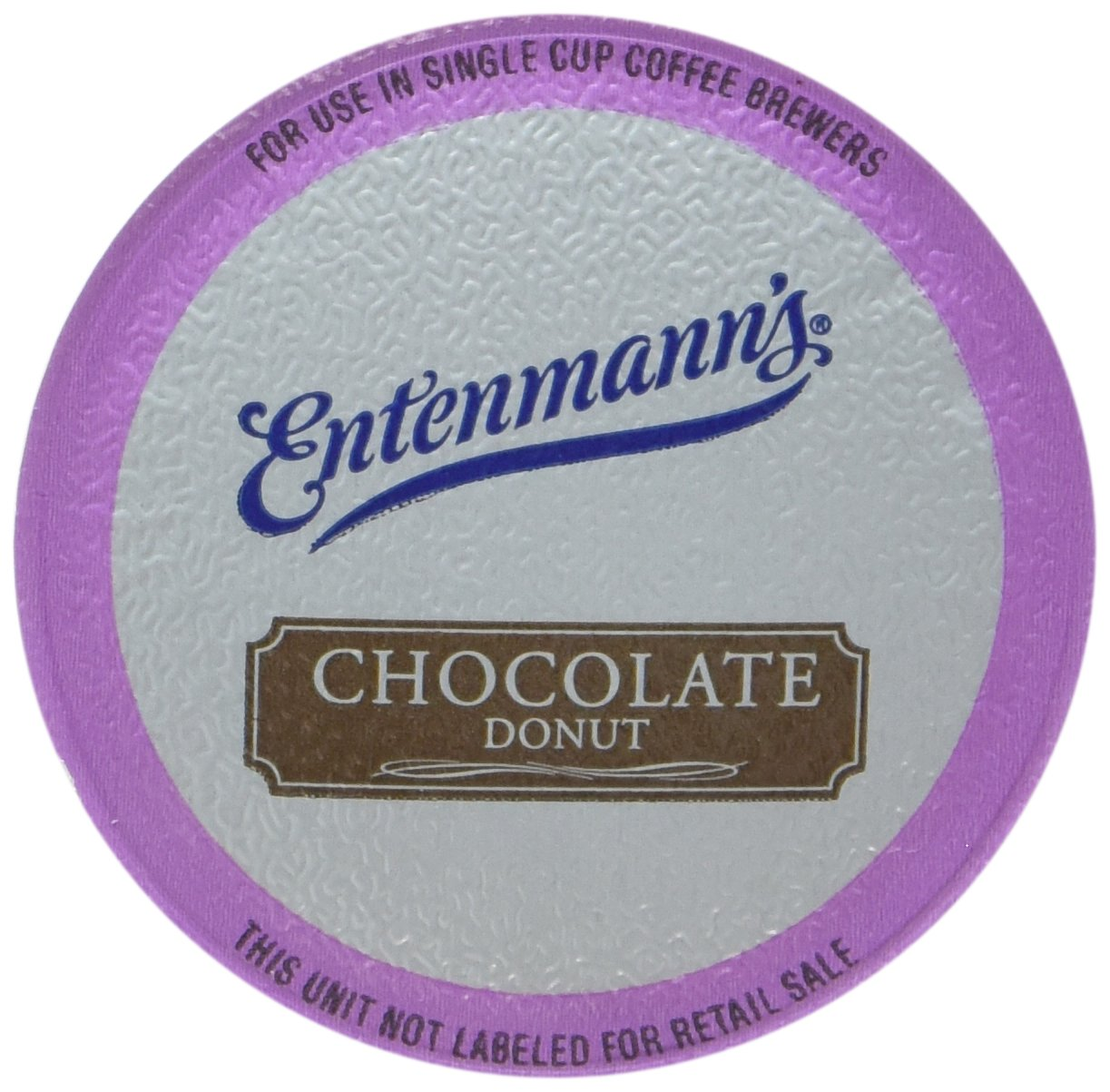 Entenmann's Chocolate Donut Flavor K-Cup Coffee, 2/10 ct boxes