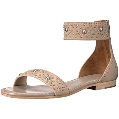 Frye Women's Carson Deco Zip Flat Sandal | Flats