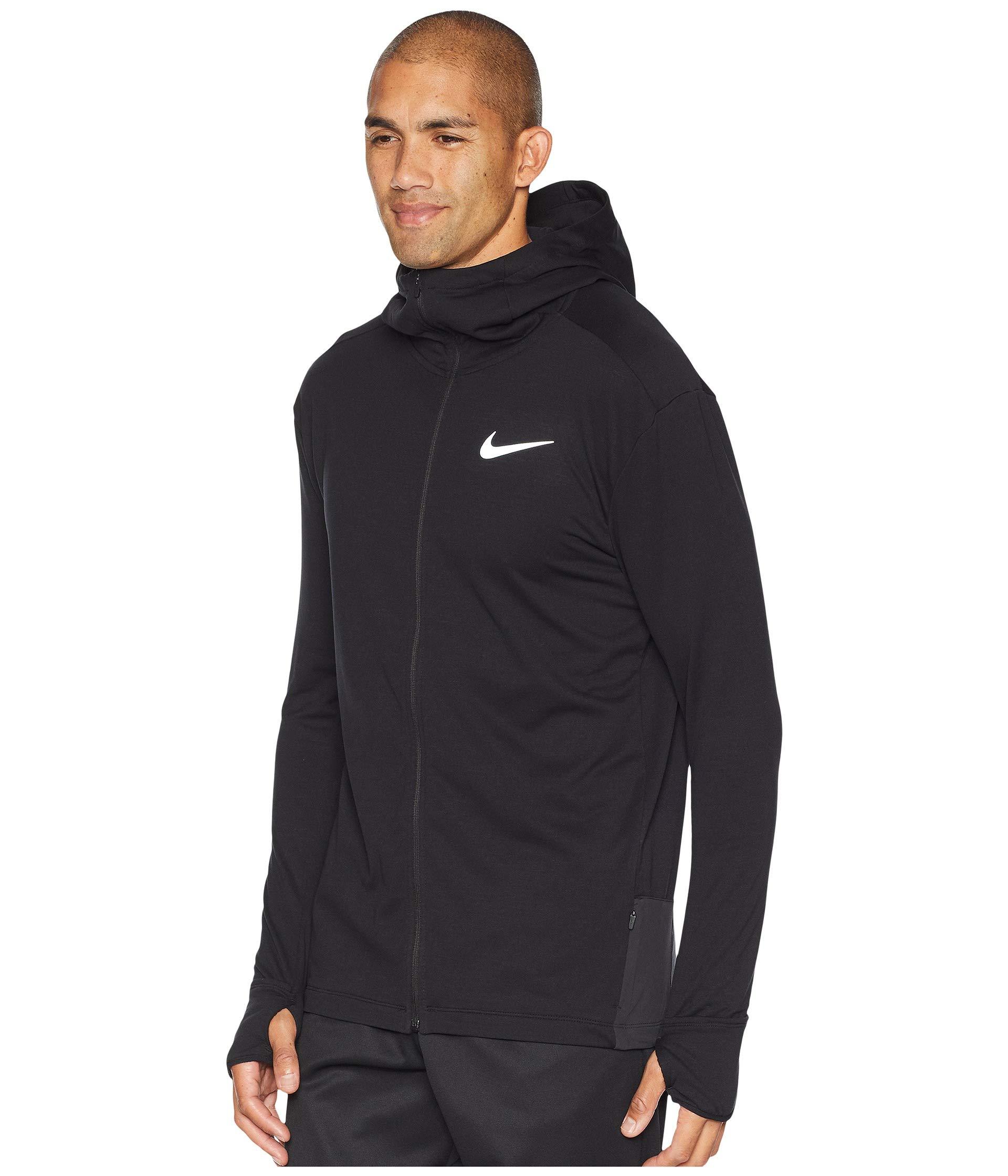 NIKE Sphere Element 2.0 Men's Full-Zip Running Hoodie (Black, X-Large) by Nike (Image #3)