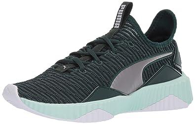 4bcc1235ac0729 PUMA Women s Defy Sneaker Ponderosa Pine-fair 5.5 ...
