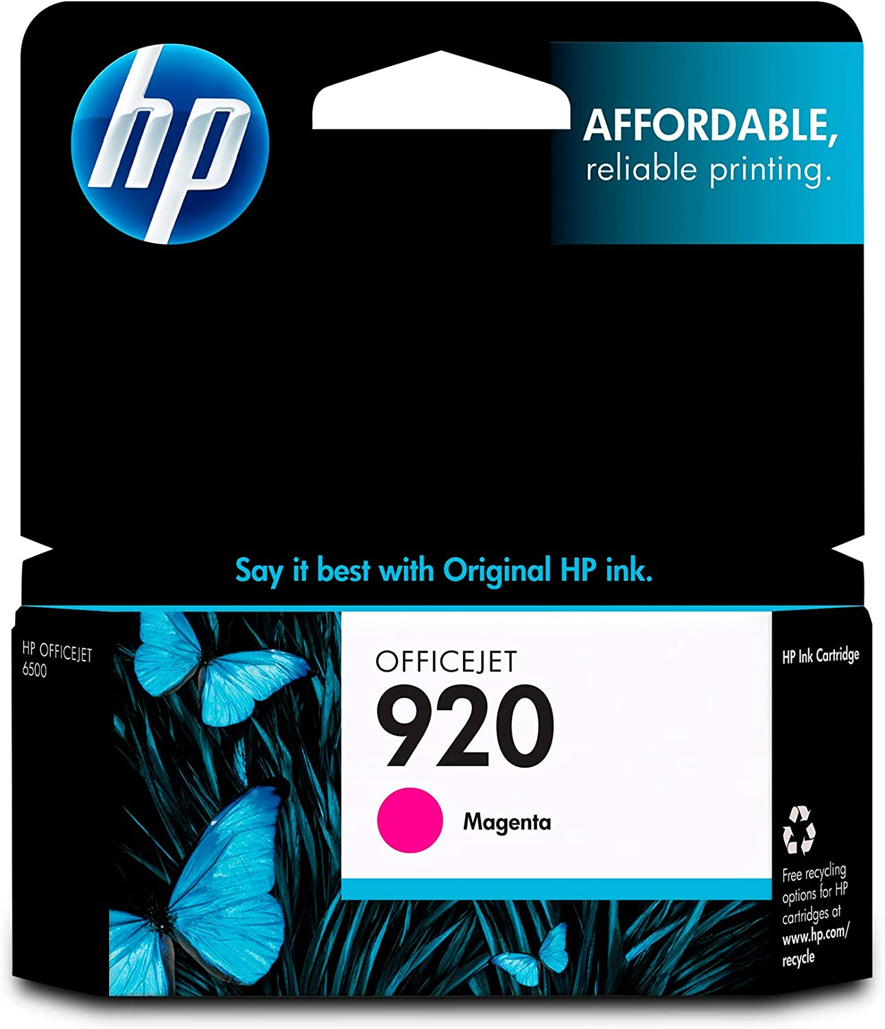 HP 920 | Ink Cartridge | Magenta | CH635AN