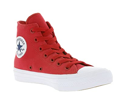 Converse Chuck Taylor All Star II Salsa Red 9.5 B(M) US Women   7 D(M) US  Men  Buy Online at Low Prices in India - Amazon.in e8cde31dc