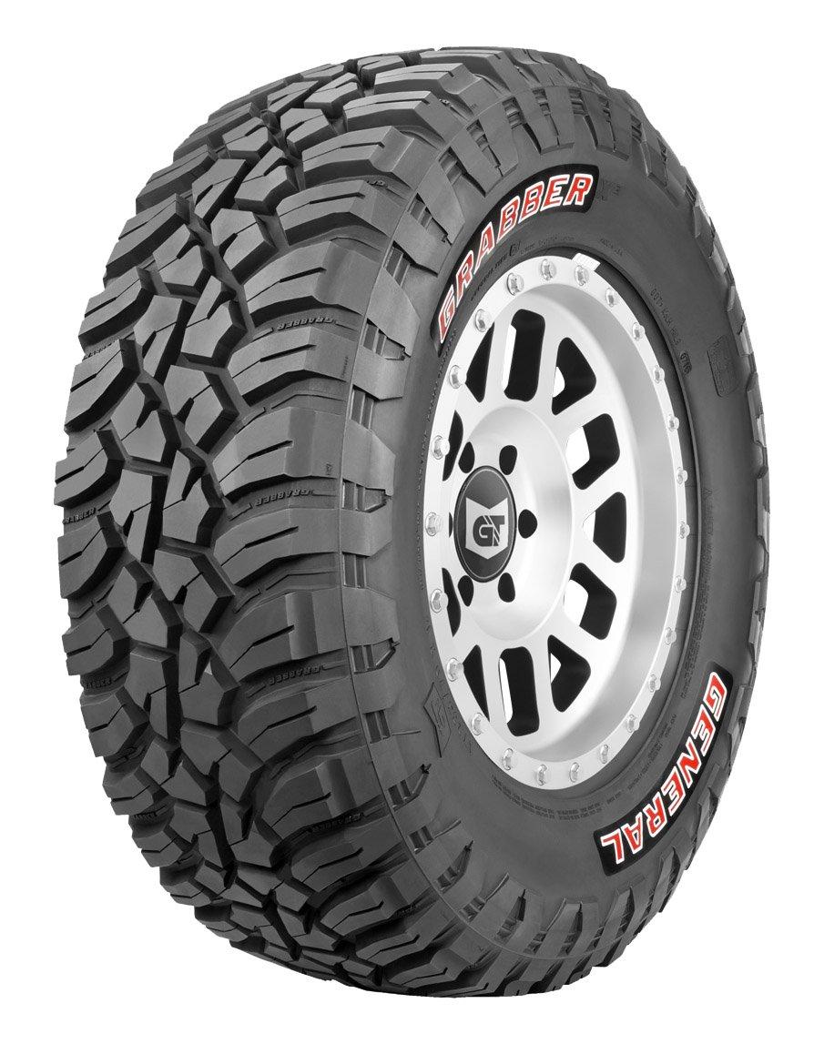 General GRABBER X3 All-Terrain Radial Tire - 35X12.50R17LT 121Q 121Q 4505840000