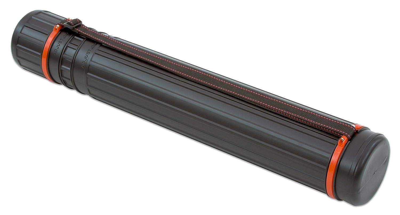 Zeichenköcher schwarz Rumold ZR6611 mit Schraubdeckel