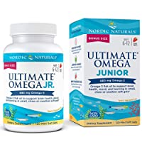 Nordic Naturals Ultimate Omega Junior - Support for a Healthy Heart, Brain and Mood...