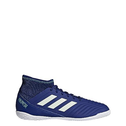 Adidas Predator Tango 18.3 In J, Zapatillas de Fútbol Sala Unisex Adulto, Azul (Azul/(Tinuni/Aerver/Vealre) 000), 38 2/3 EU