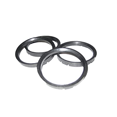 Gorilla Automotive 73-6006 Wheel Hub Centric Rings (73mm OD x 60.06mm ID) - Pack of 4: Automotive