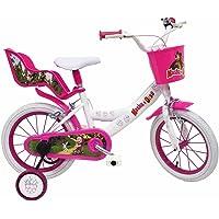 """Masha et l'Ours Vélo Enfant Blanc 14"""""""