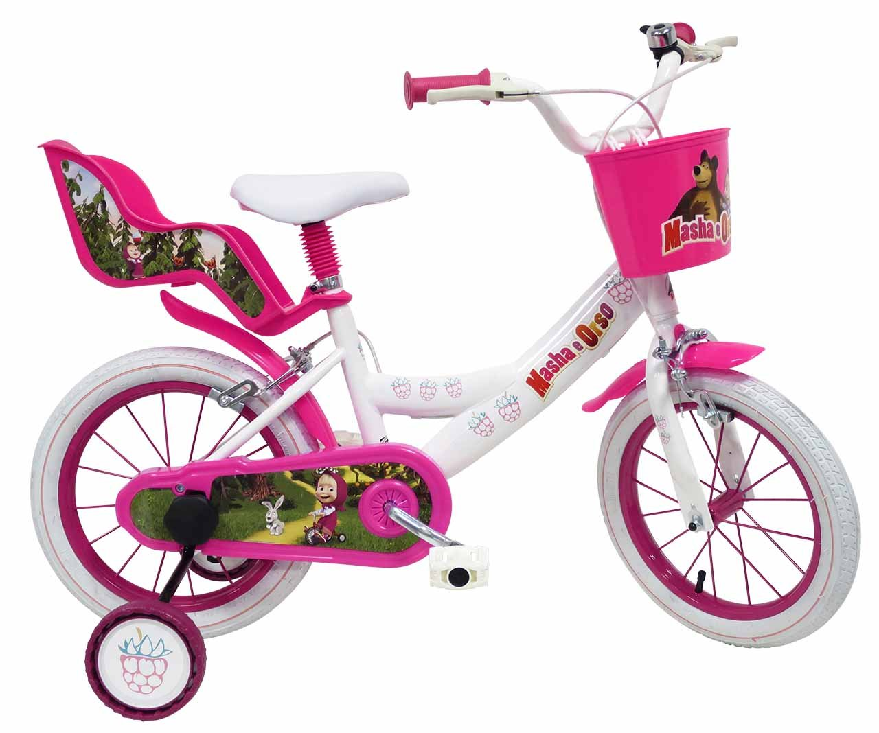 14 Official Masha & The Bear Bicycle by Masha & The Bear