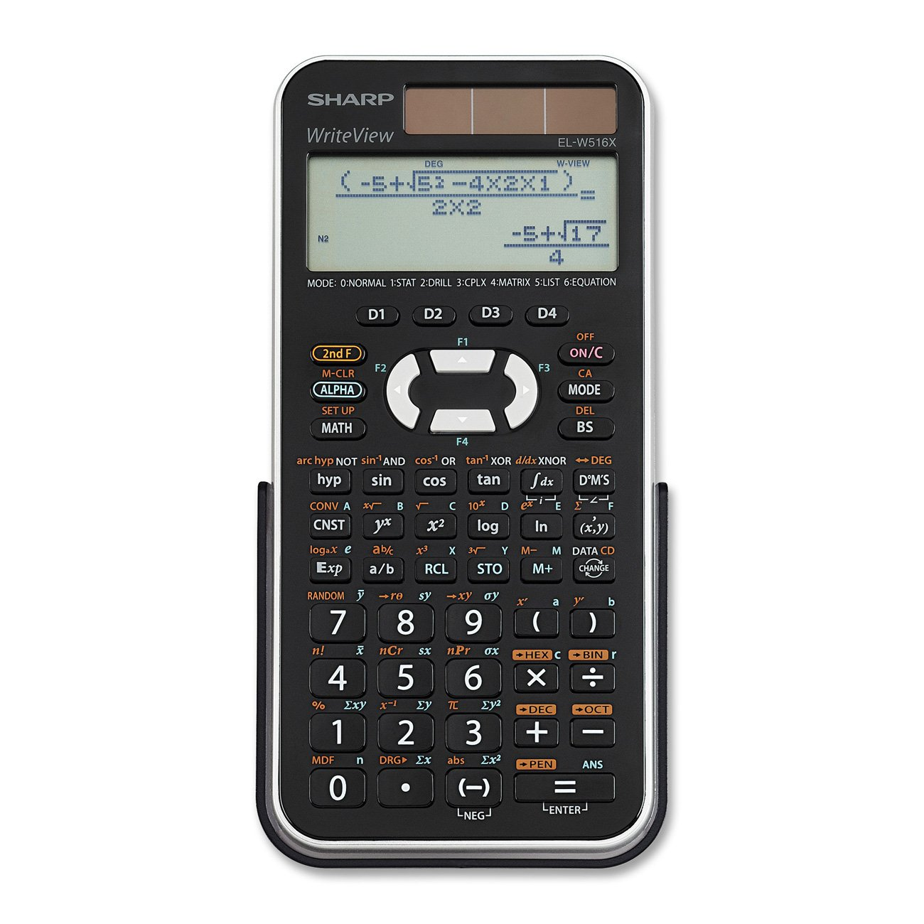 Sharp Electronics Engineering/Scientific Calculator (EL-W516XBSL)