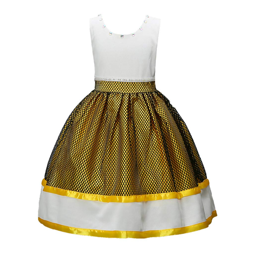Lollyeca Baby Dress 8-9 PANTS ベビーガールズ Lollyeca 8-9 Years イエロー Dress B07L6K88R7, ゲンセンカン:79f61e39 --- bennynews.com