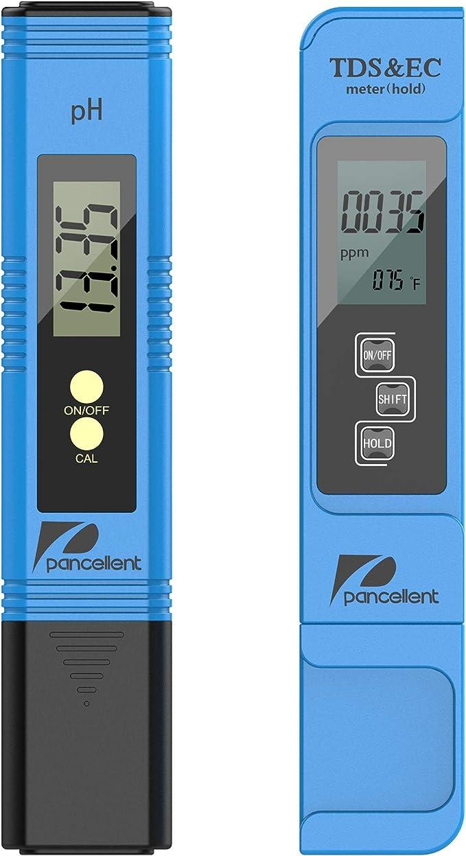150 opinioni per Pancellent Misuratore di qualità dell'Acqua TDS PH EC Temperatura 4 in 1 Set per