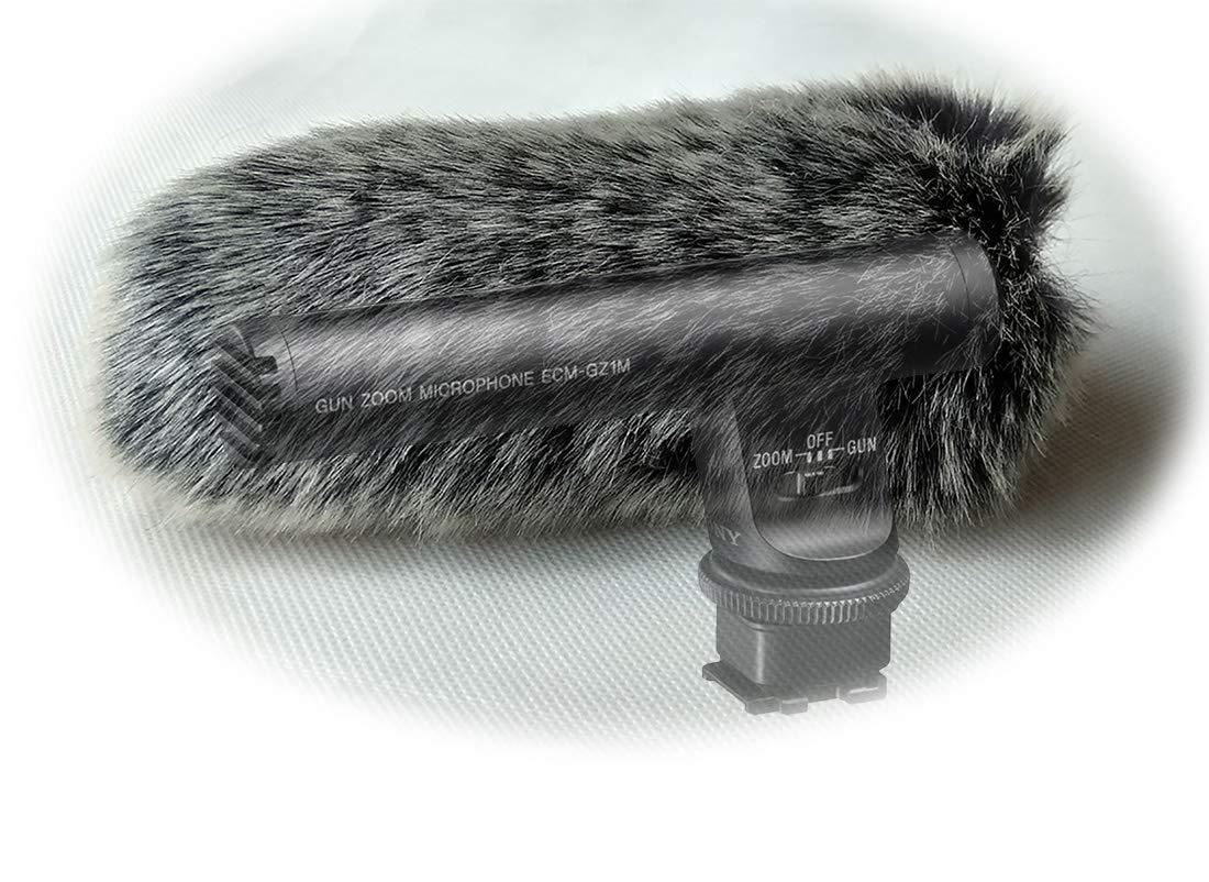 Furry MIC Windshield Windscreen WIND Muff Compatible for sony ECM-GZ1M ZOOM Microphone