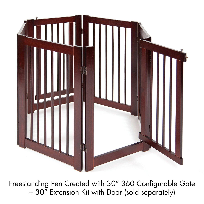 24 Primetime Petz Extension Kit for 360 Configurable Walk Through Folding Pet Gate