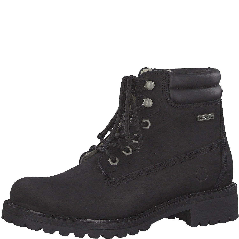 schwarz Uni Tamaris Damen 26239 Combat Stiefel