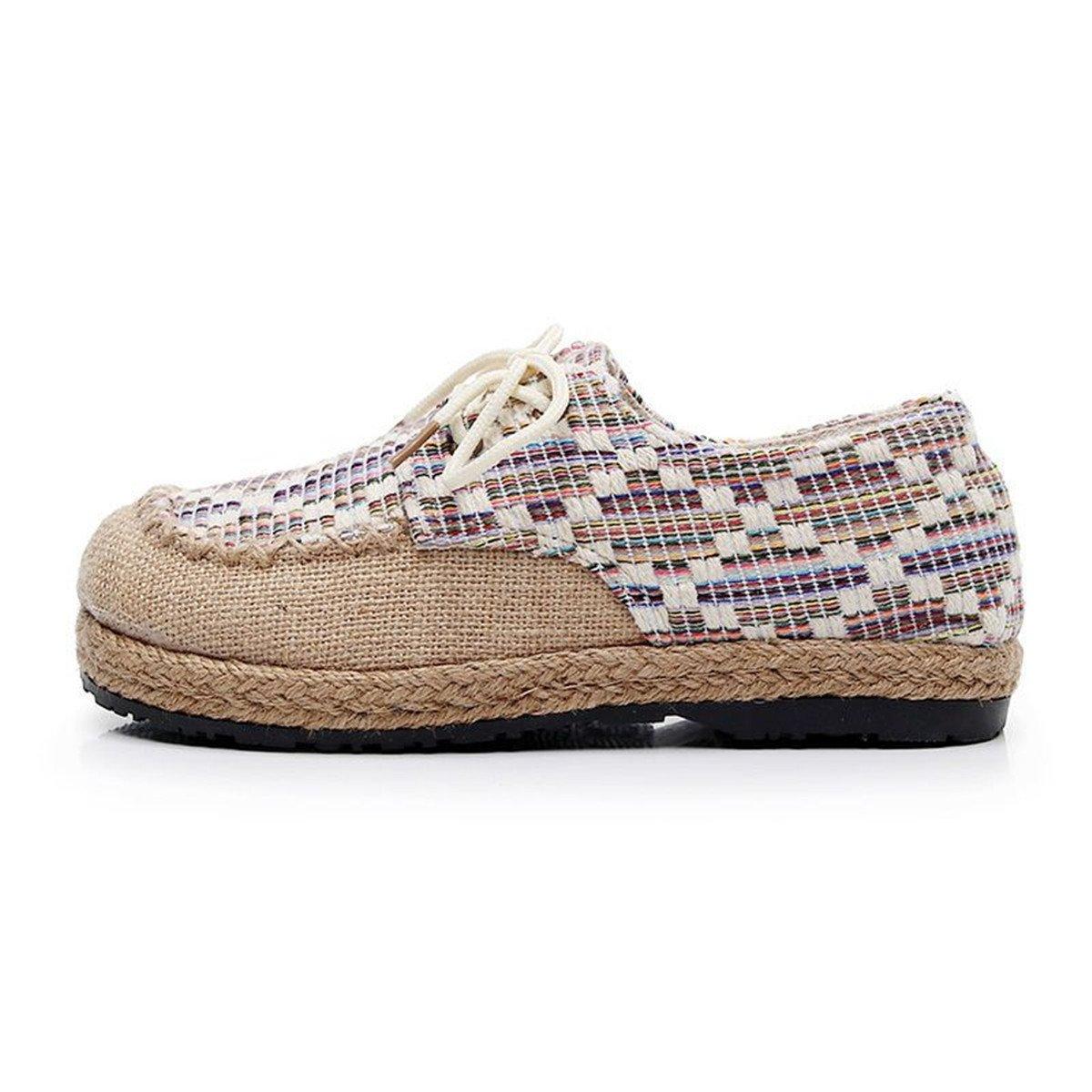 Femme Eté Sandales | | Chaussures Chers chaussures | de de toile épaisse à tête ronde | avec les élèves, les chaussures chaussures de toile respirante système avec une simple | women s chaussures sandales white 9e1cd5e - gis9ma7le.space