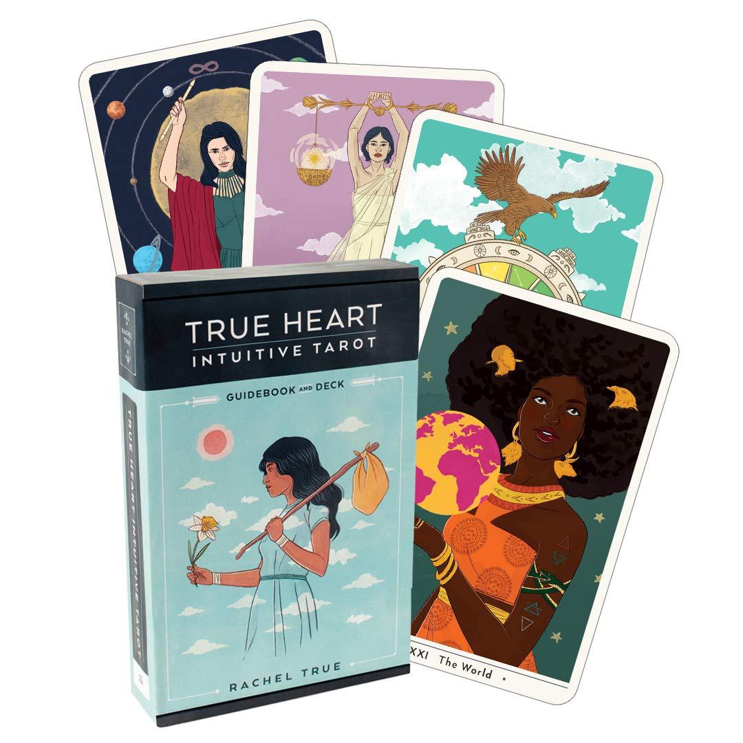 True Heart Intuitive Tarot, Guidebook and Deck: True, Rachel: 9781328566263: Amazon.com: Books