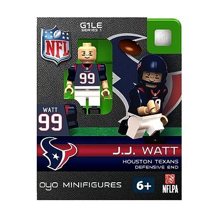 J.J Watt Houston Texans Couleur Rush Oyo Sports Toys G4 Ser 6 Figure Figurine
