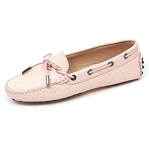 scarpa HEAVEN C9078 mocassino loafer woman donna rosa TOD'S shoe ItxAxwg