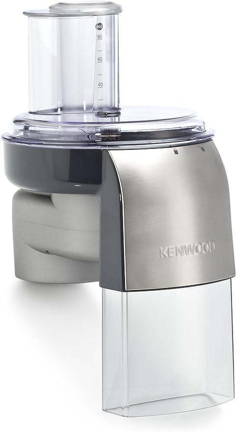 Kenwood AT340 Accesorio Rebanador Y Rallador, Plástico/Aluminio, Gris: Amazon.es: Hogar